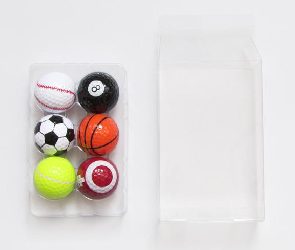 高尔夫球pet吸塑盒