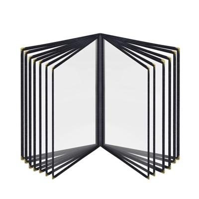 透明PVC菜谱夹