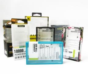 移动电源塑料包装盒子