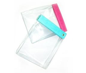 深圳牛湖PVC透明拉链袋