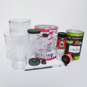 深圳龙华订做透明PVC圆筒包装盒