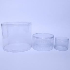 广东深圳订做透明卷边圆筒包装盒