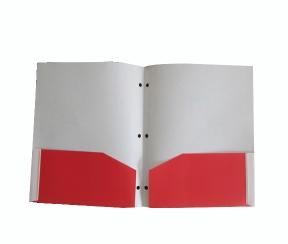 双插袋文件夹 会议报告夹 PP档案资料夹