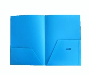 A4塑料双面插袋文件夹L型文件套