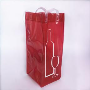 观澜牛湖厂家订做PVC红酒礼品袋