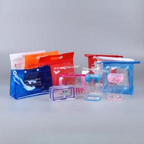 宏运达订做PVC手提拉链包装袋