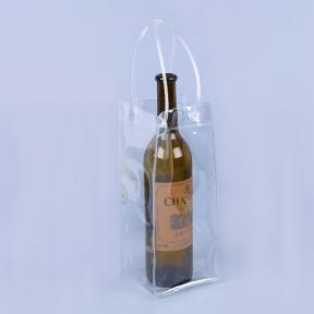 pvc手提红酒袋