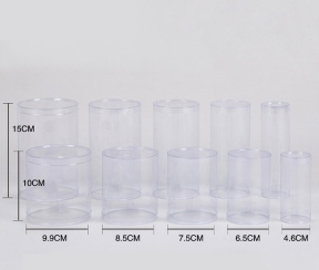 透明塑料圆筒