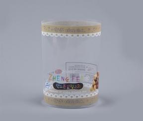 透明包装筒